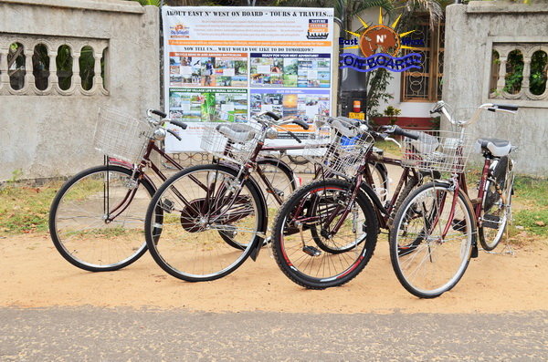 02 - Bicycle rental Batticaloa - East N' West on Board